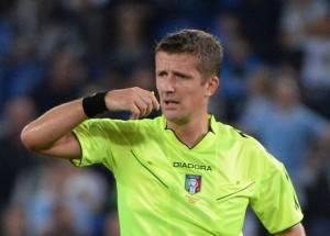 Serie A, designazioni arbitrali della 31a giornata