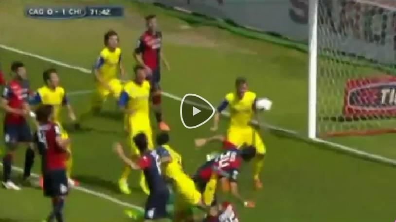 Video Cagliari-Chievo
