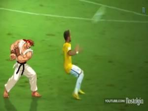 Video, l'infortunio di Neymar