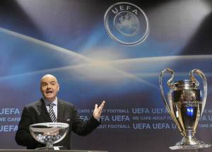 sorteggi champions ed europa league
