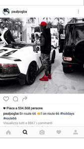 Profilo Instagram Ufficiale di Paul Pogba