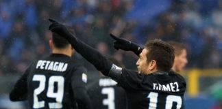highlights lione-atalanta 1-1