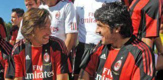 Pirlo e Gattuso